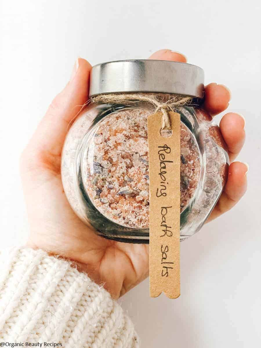 Healing DIY Bath Salts