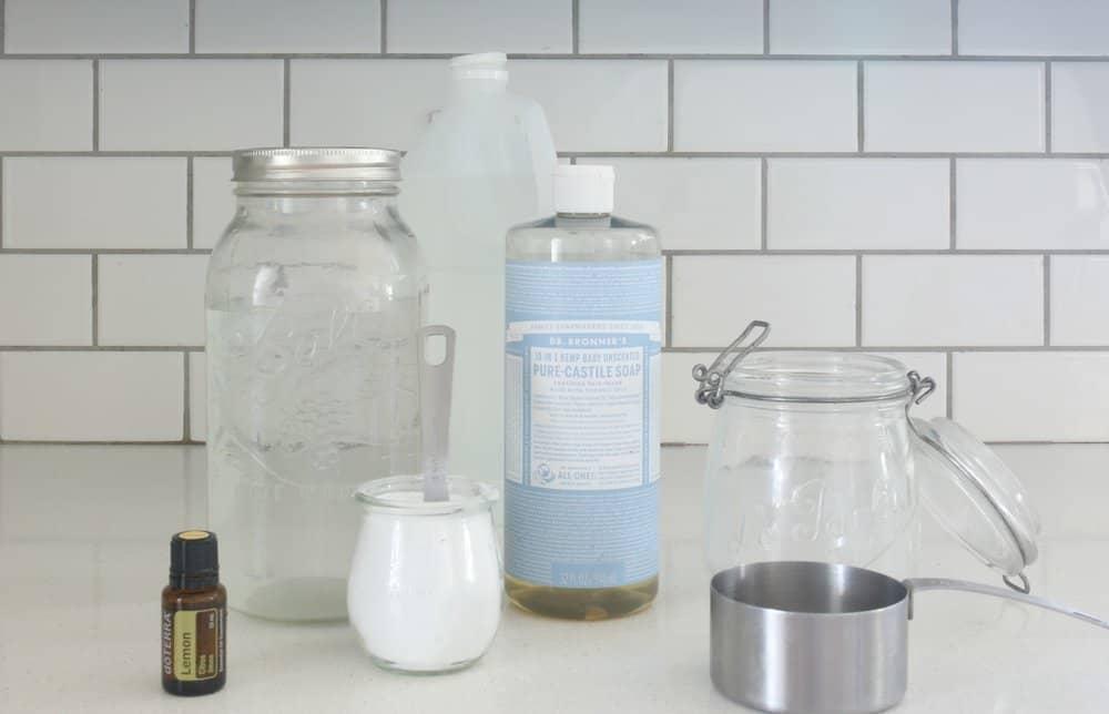 Homemade Nontoxic Bathroom Scrub Cleaner – Farmhouse on Boone