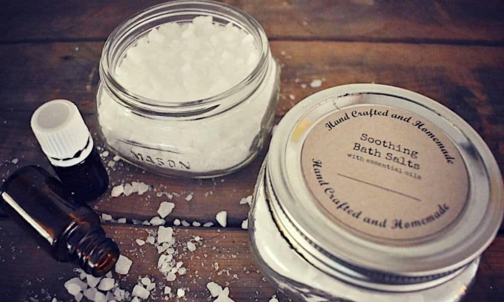 House & Homestead DIY Bath Salts