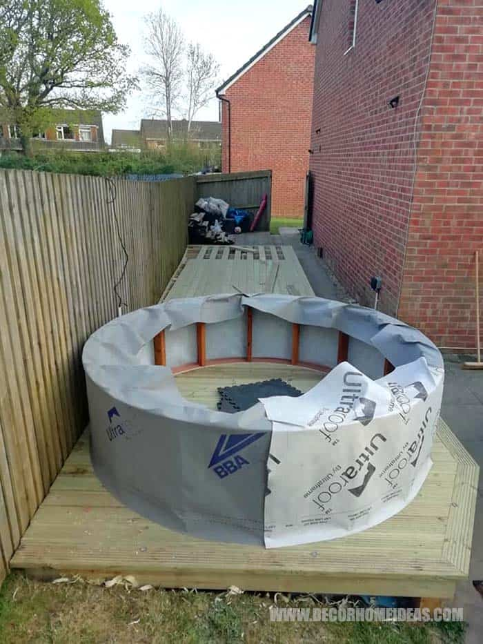 How To Make a Hot Tub Surround with Deck – Decor Home Ideas