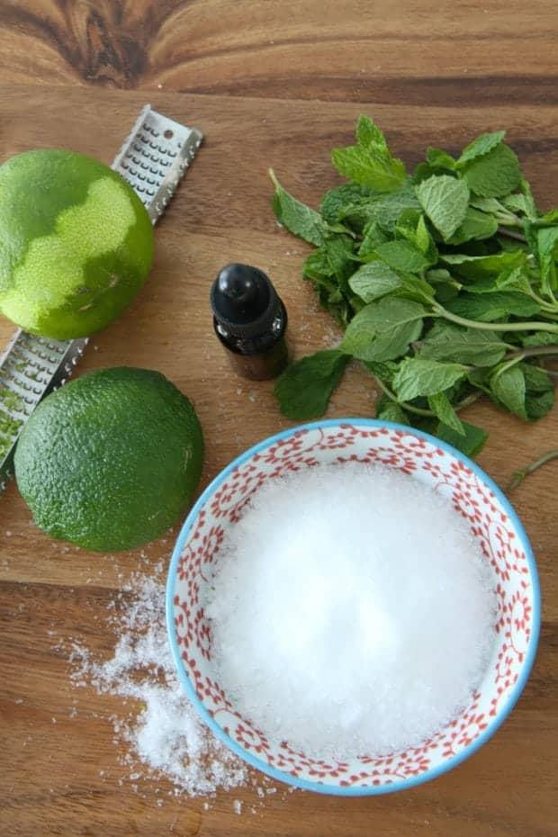 Mojito Bath Salts
