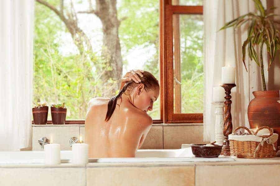 Six Skin Softening DIY Bath Oils