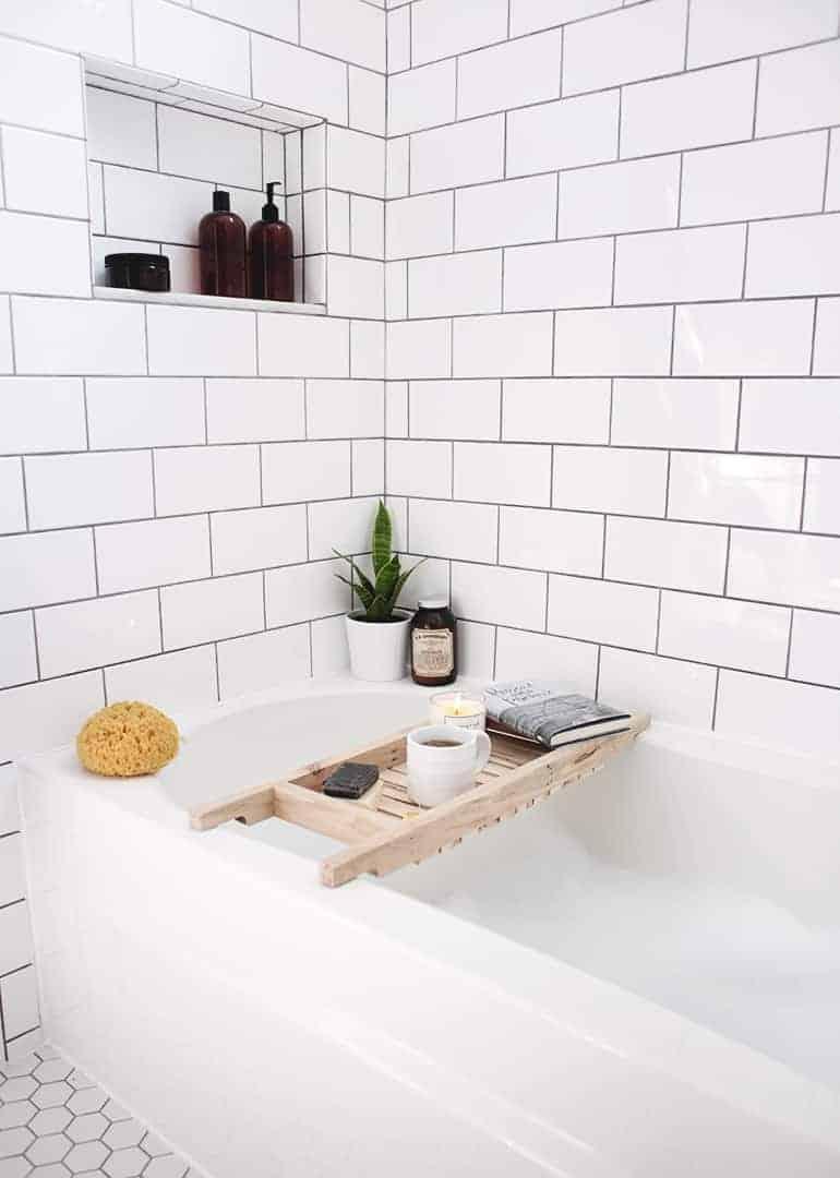 Spa-Style DIY Bath Caddy