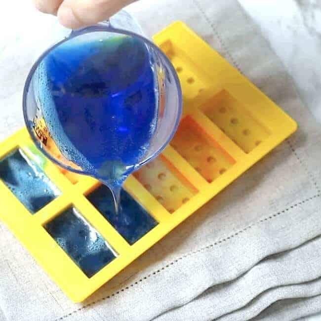 DIY Lego Jiggly Jelly Soap