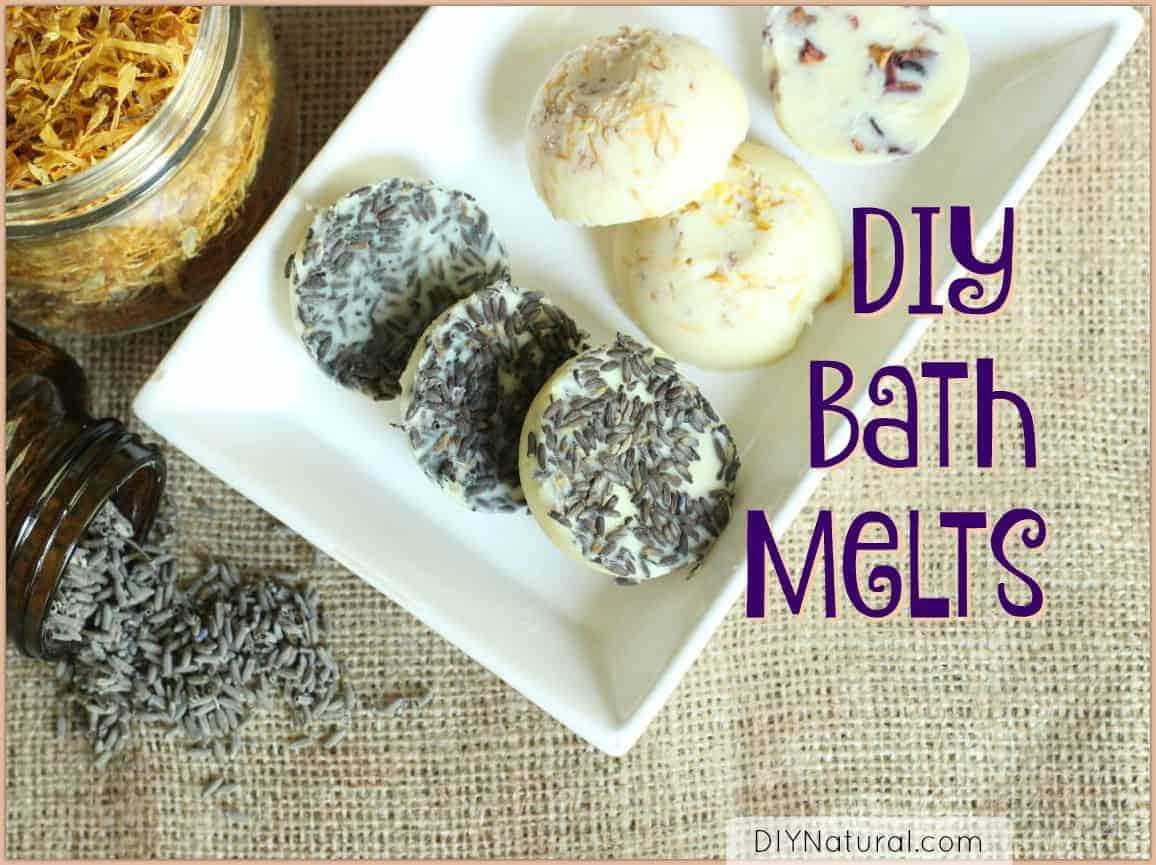 DIY Naturals Bath Melts