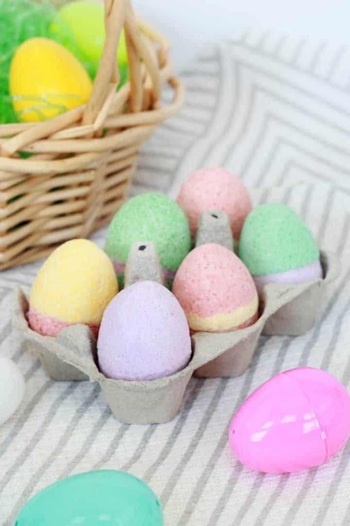 Easter Egg Bath Bomb Molds (DIY)