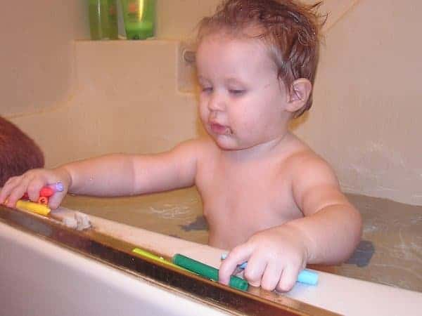 Feels Like Home DIY Bath Crayons
