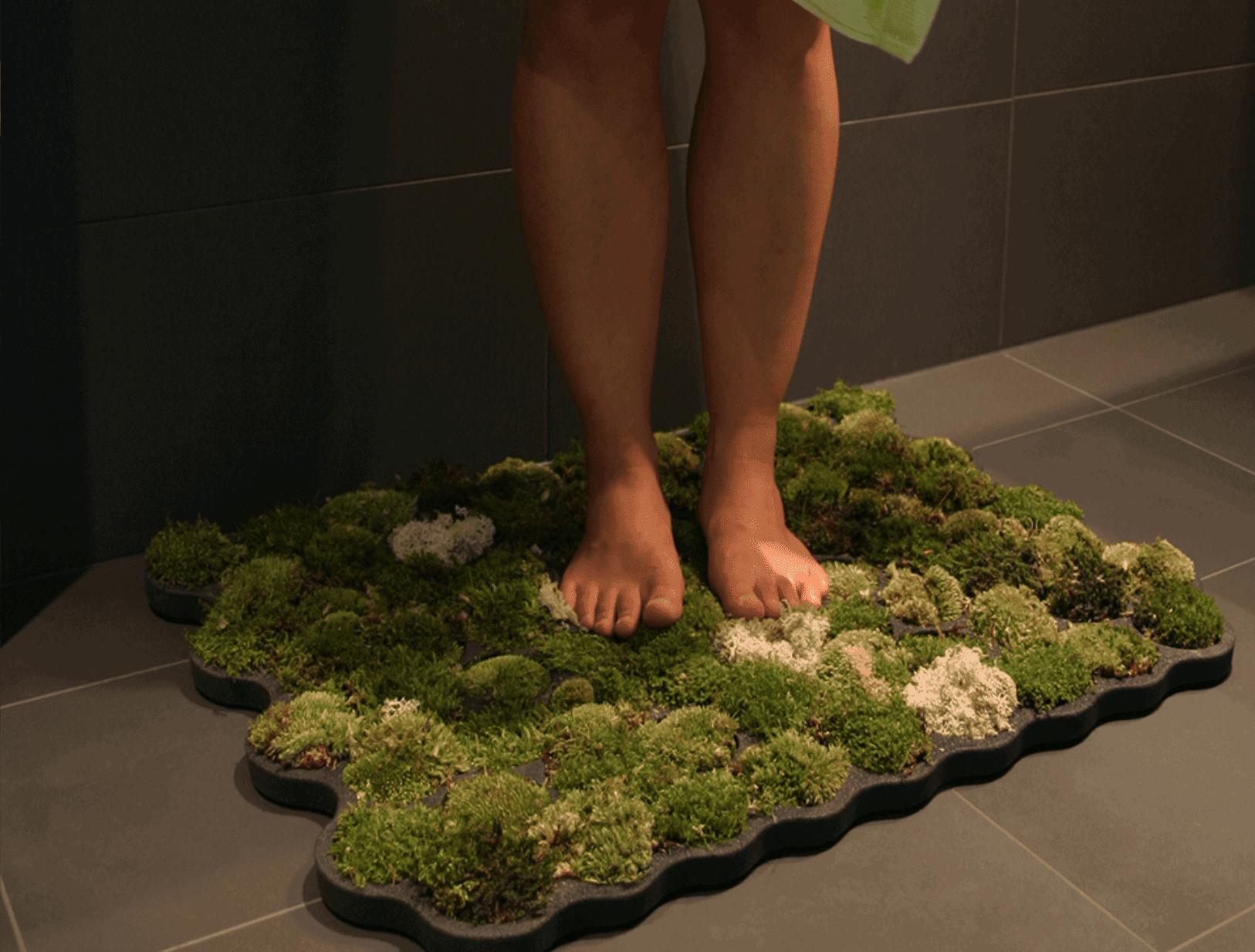 Green Gradient DIY Moss Mat