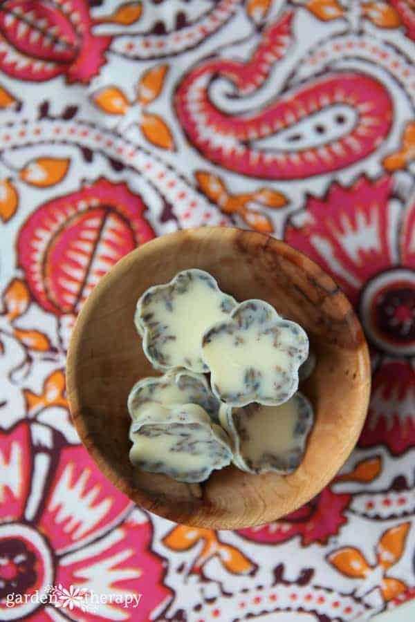 Lavender Cocoa DIY Bath Melts