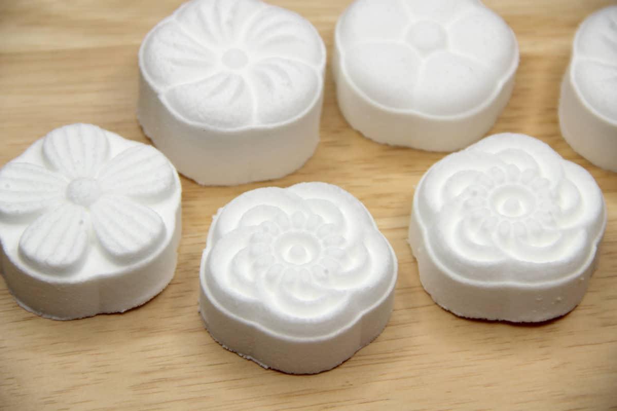 Mooncake Press Bath Bomb Molds
