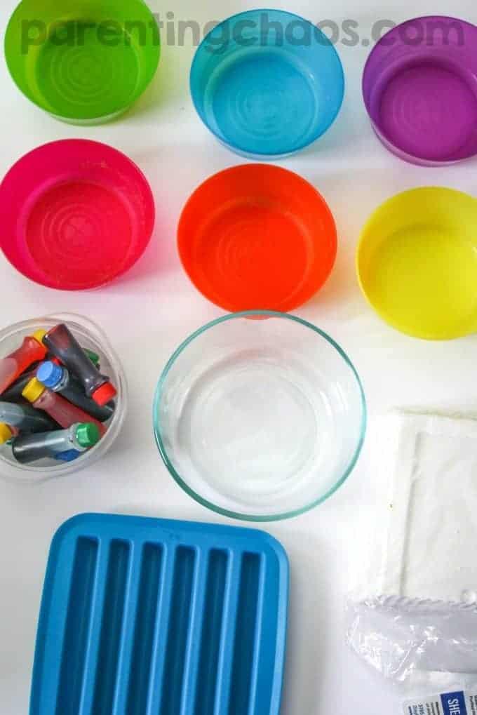 Parenting Chaos DIY Bath Crayons