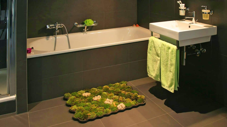 Plastazote DIY Moss Shower Mat
