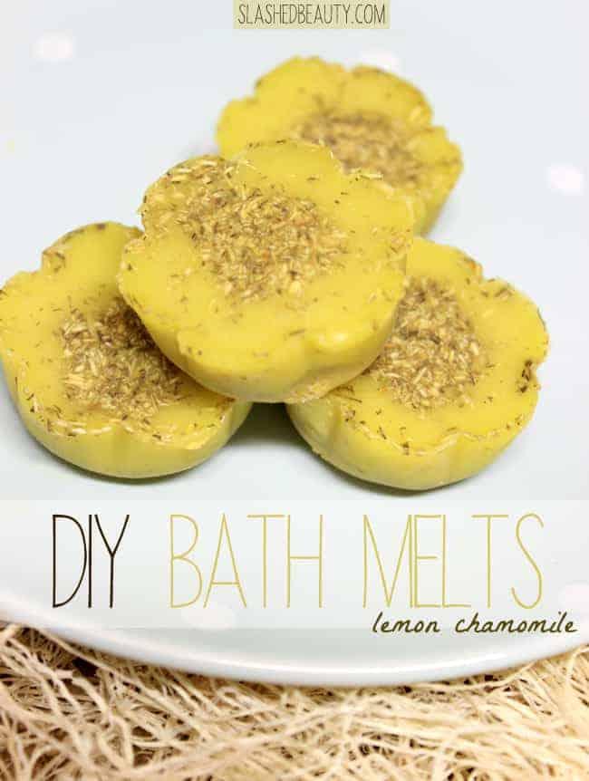 Slashed Beauty DIY Bath Melts