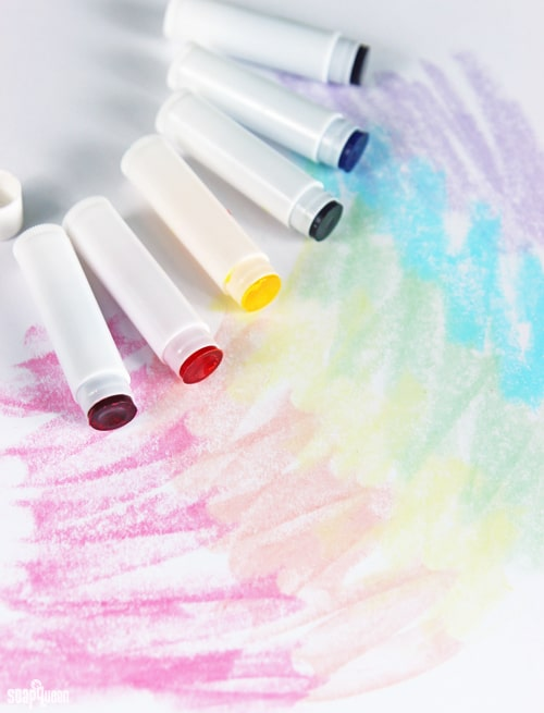 Soap Queen's Melt-and-Pour Bath Crayons