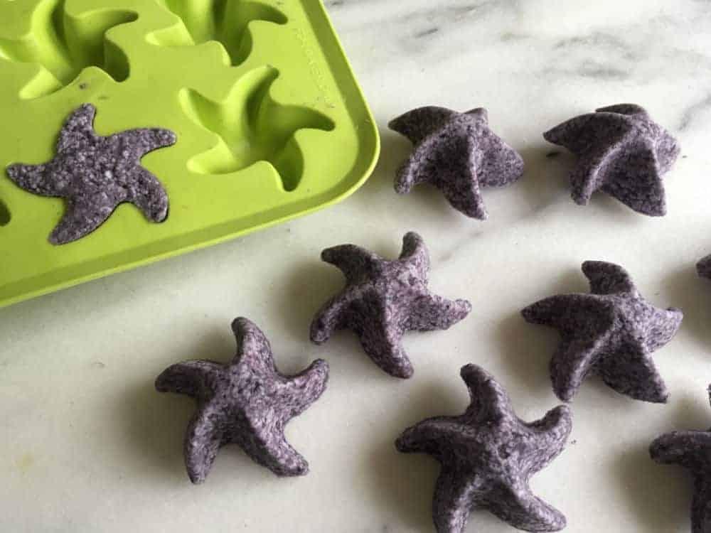 Starfish Ice Cube Bath Bomb Molds (DIY)