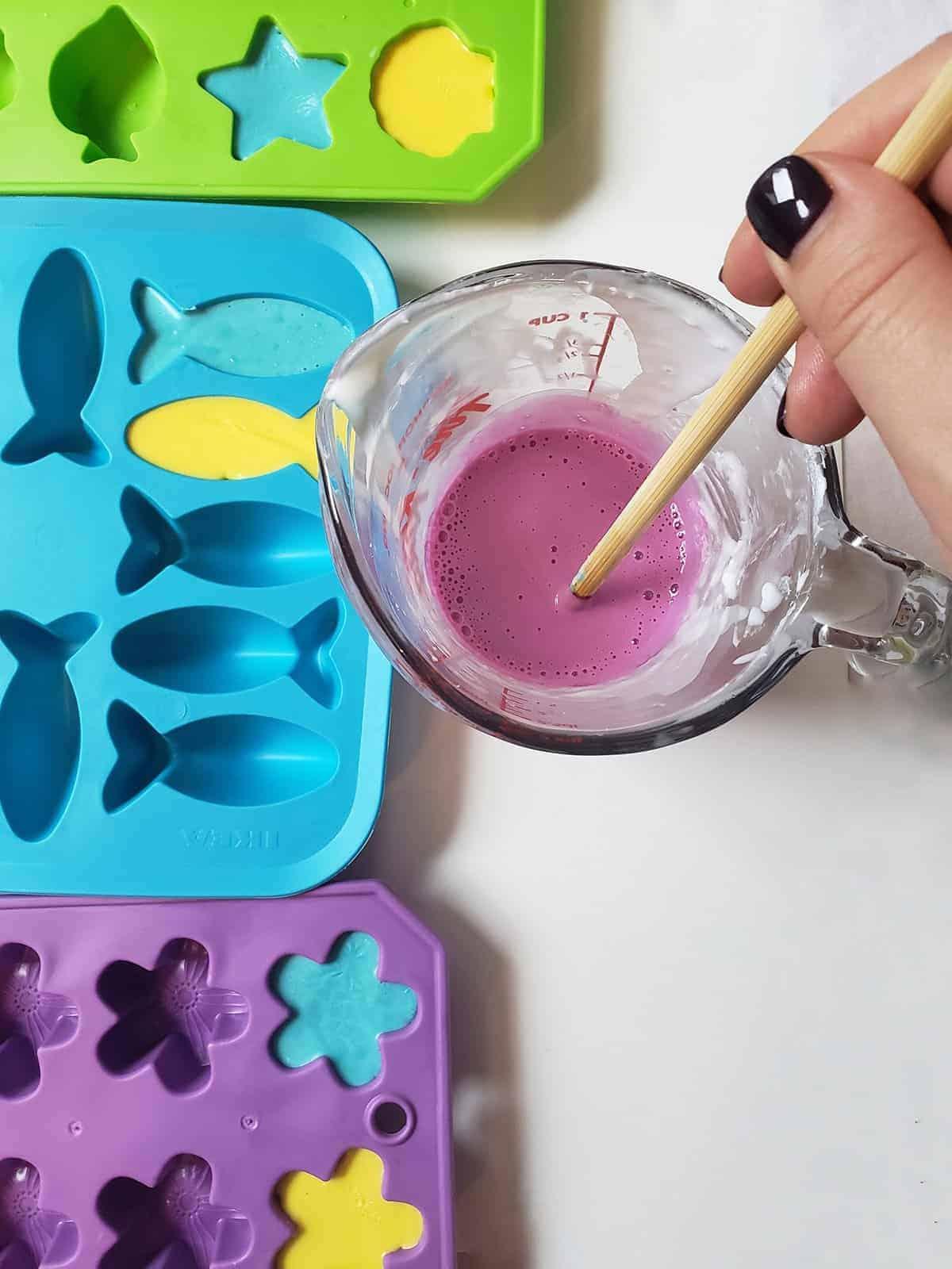 Super Simple DIY Soap Crayons