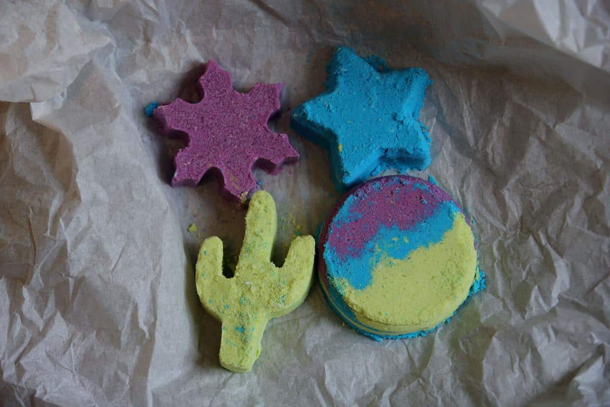 Traditional Cookie Cutter Bath Bombs
