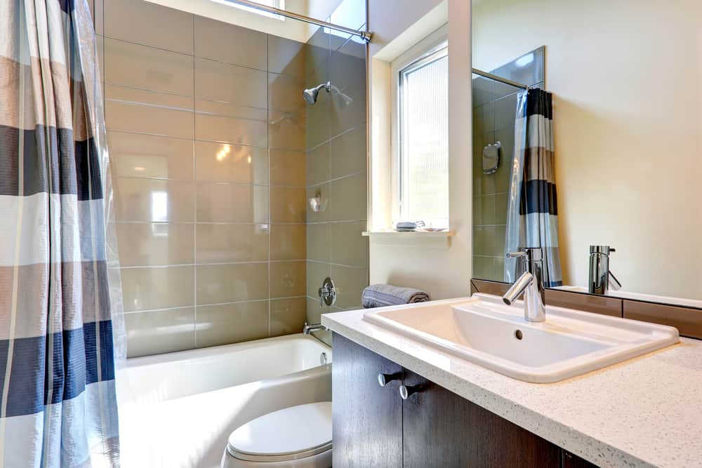 So how big does your bathroom need to be