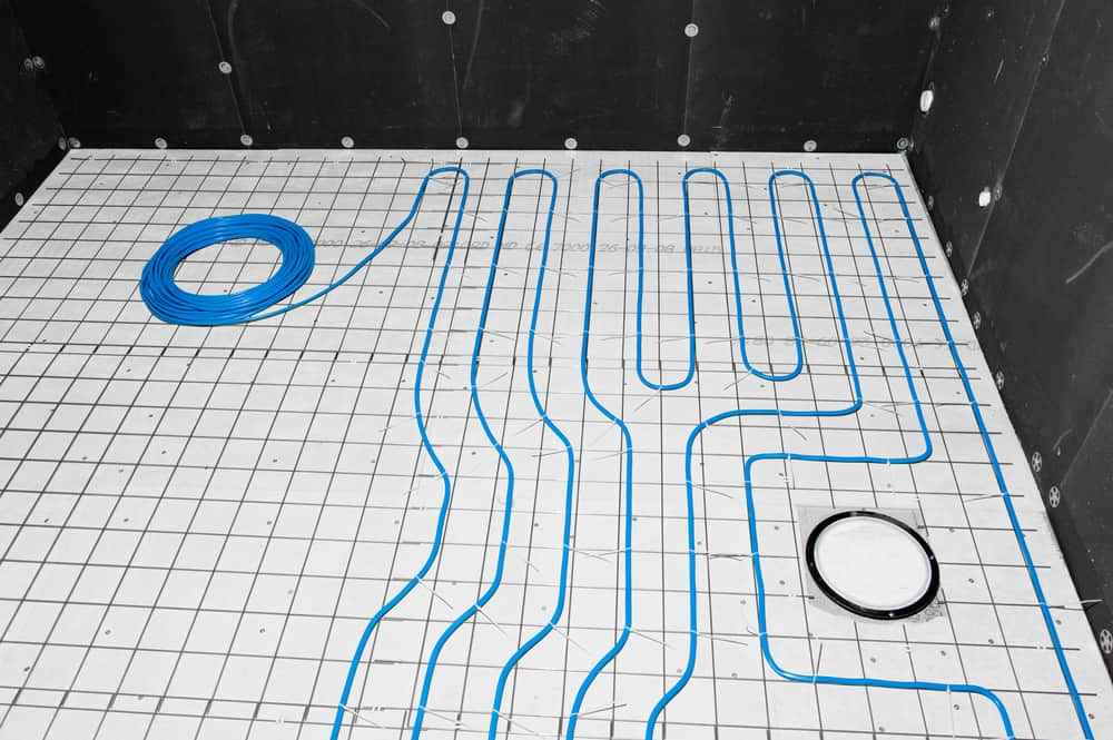 Two different Radiant Heating Systems
